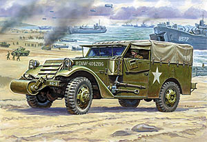 mit Verdeck Zvezda 3581 US M3 Armored Scout Car 1:35