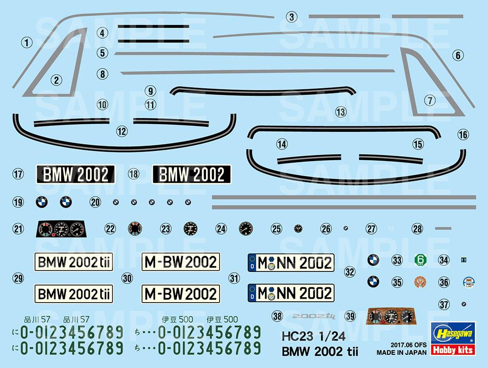 Bmw 2002 Tii 1971 Hasegawa Hc23