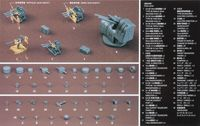QG18 Japanese Navy Ship Equipment Set A (Machine Guns & Optical Weapons)
