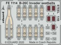 B-26C Invader seatbelts STEEL ICM - Image 1
