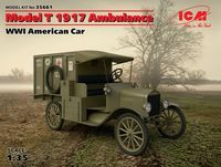 Model T 1917 Ambulance, WWI American Car (100% new molds) - Image 1
