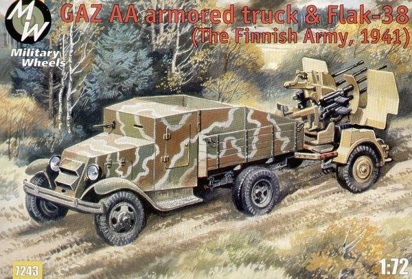Bausatzwarnung Military Wheels #7243 GAZ-AA armored truck 2039_rd