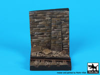 Wall with rail base (55x55 mm) - Image 1