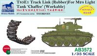 T85E1 Track Link (Rubber) For M24 Chaffee - Image 1