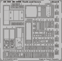 Bf 109E tools and boxes - Image 1