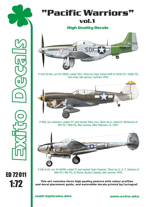Pacific Warriors vol.1 - P-40 - P-51 - P-38 - Image 1