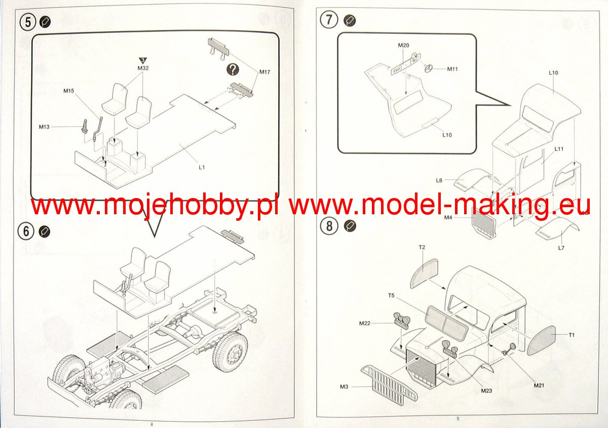 Us Ambulance Towing Tractor Academy 13403 Wiring Diagram 2 Aca13403 3