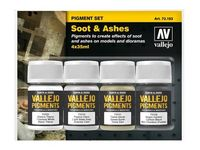 73193 Pigment Set Soot & Ashes