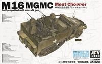 M16 MGMC Meat Chopper Self-propelled anti aircraft gun