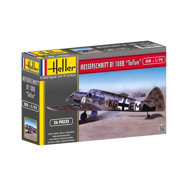 Heller 80231 Plastikmodellbau Luftfahrt Messerschmitt Bf 108 B Taifun
