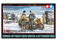 German Luftwaffe Crew (Winter) w/Kettenkraftrad - Image 1