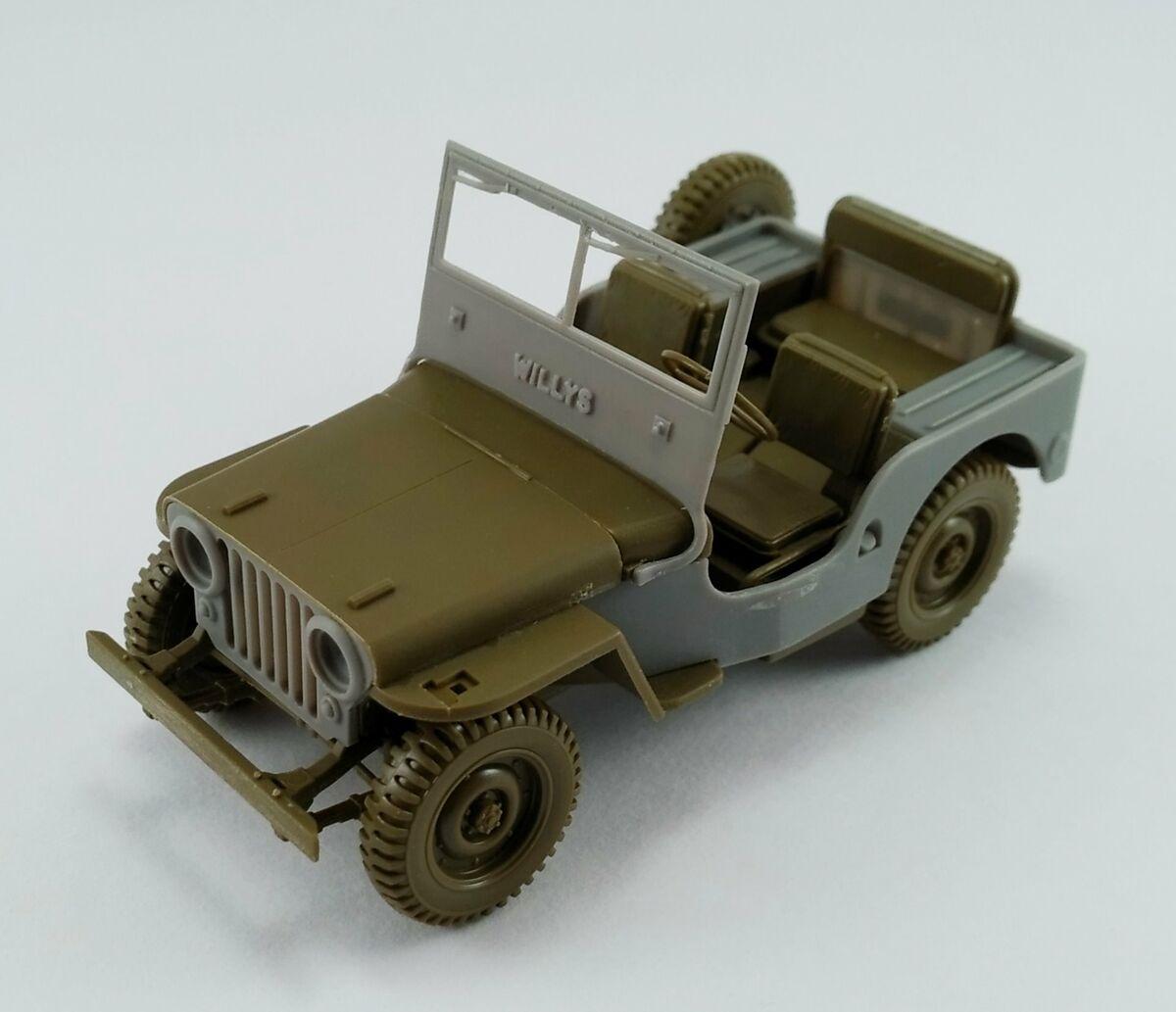 Jeep Willys Cj2a For Tamiya Mp Originals Masters Models 48012