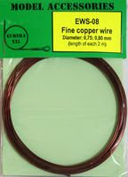 Fine copper wire Diameter: 0.75, 0.80