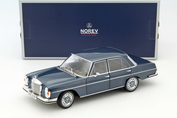 mercedes benz 280 se w108 1968 blue metallic die cast. Black Bedroom Furniture Sets. Home Design Ideas
