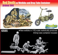 British Red Devils w/Welbike and Drop Tube Container (Arnhem 1944)