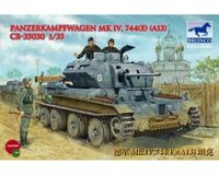 German Pzkpfw Mark IV 744 E (A13) - Image 1
