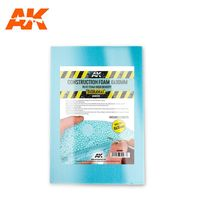 CONSTRUCTION FOAM 6 AND 10MM BLUE FOAM HIGH DENSITY 195X295MM INCLUDES 2 SHEETS - Image 1