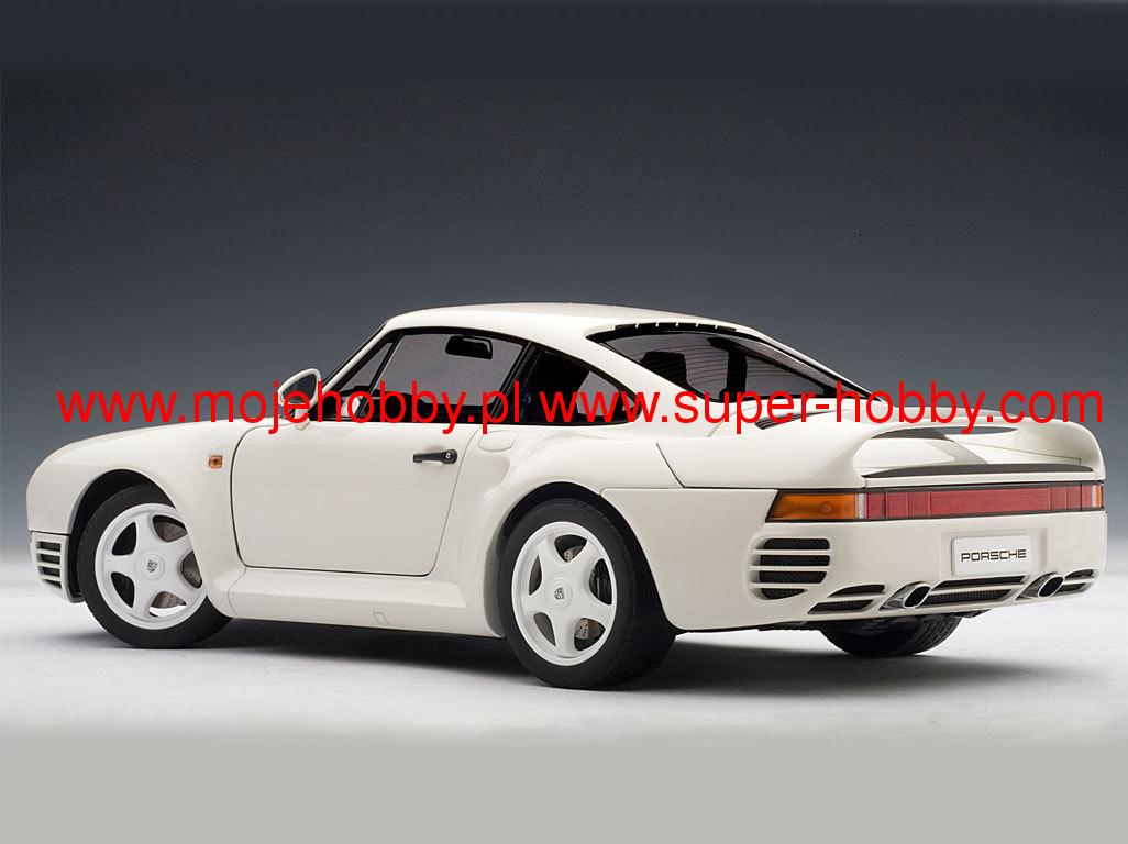 AUTOart 78083-1//18 Millennium Porsche 959 1986 white