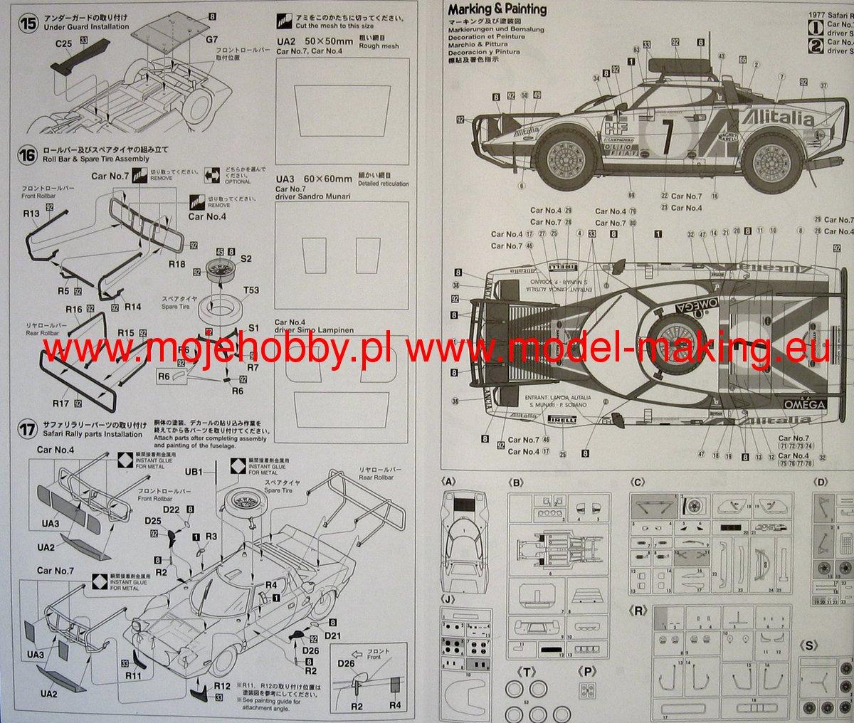 Lancia Stratos Wiring Diagram