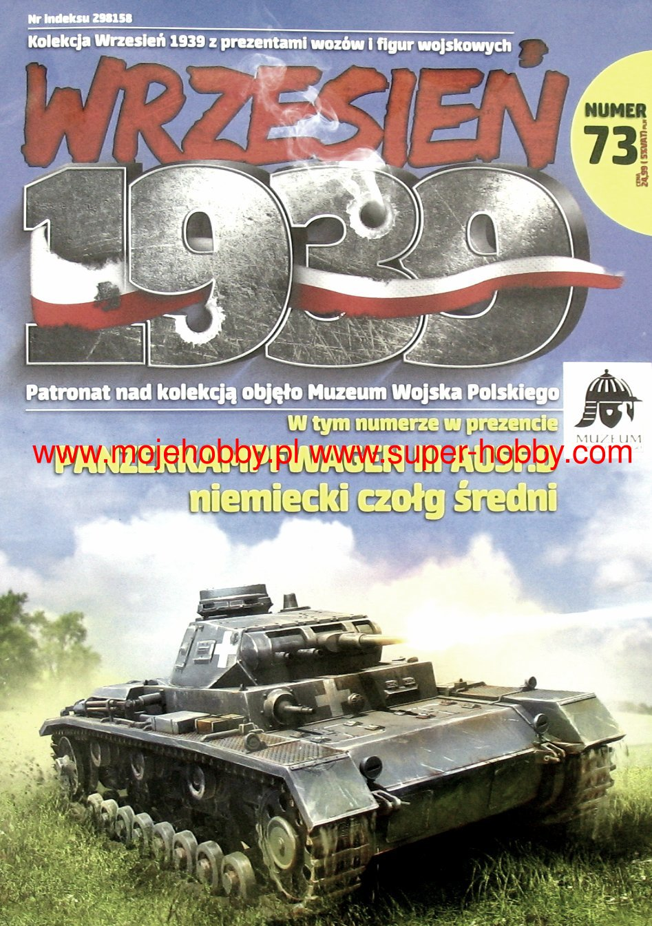 Pz.bfwg III Ausf.D1-1:72 075 First To Fight