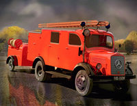 L1500S LF 8, German Light Fire Truck