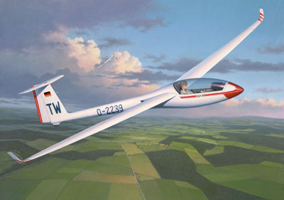 Glider Plane LS8-a Revell 04253