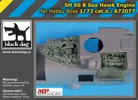 SH-60B Sea Hawk engine  for Hobby Boss - Image 1