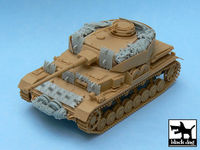 Pz.Kpfw. IV Ausf J accessories set for Tamiya 32518, 20 resin parts