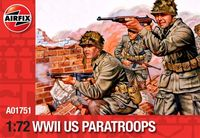 WWII US Paratroops 1:72 - Image 1