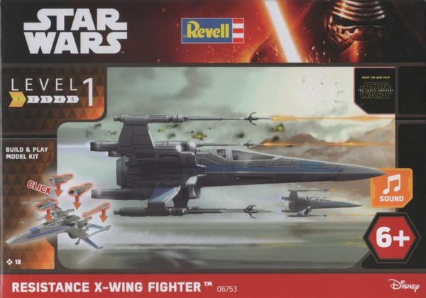Star War X Wing Fighter Built Play Revell 06753