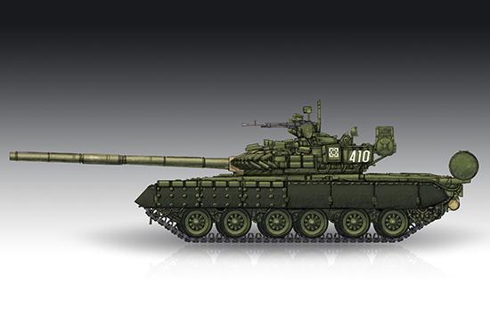 cbb3f72d0619 Russian T-80BV MBT Trumpeter 07145