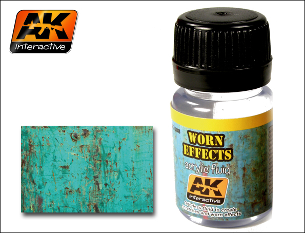 AK 088 WORN EFFECTS ACRYLIC FLUID - Image 1