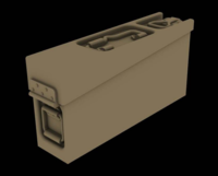 Metal ammo boxes for MG34/42