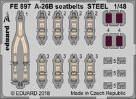 A-26B seatbelts STEEL  REVELL - Image 1