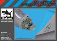 F-104 radar + tail for Kinetic