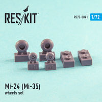 Mi-24 (Mi-35) wheels set - Image 1