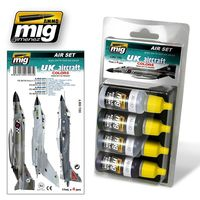 A.MIG 7203 UK Aircraft `50s to Present Set