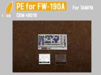 Cockpit PE for FW-190A (TAMIYA)