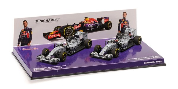 2-Car Set Infinity Red Bull - Image 1