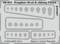 Template ovals & oblong STEEL tool - Image 1
