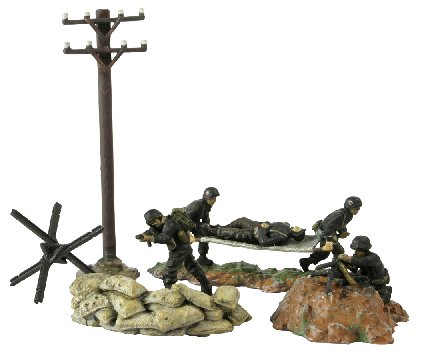 American 29th Infantry Division (5 figures) - Image 1