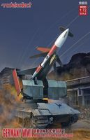 Germany Rheintochter 1 movable Missile launcher with E50 body