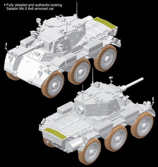 British Armored Car Saladin Mk 2