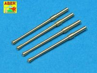 Set of 4 Japanese barrels for 20 mm Type 99 aircraft machine cannons