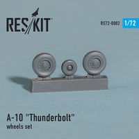 "Fairchild Republic A-10 ""Thunderbolt"" wheels set - Image 1"
