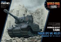 Tiger (P) VK 45.01 - World War Toons