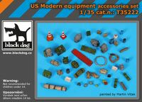 US modern equipment accessoris set
