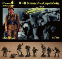 German Africa Corps Infantry (ASSEMBLY SERIES)