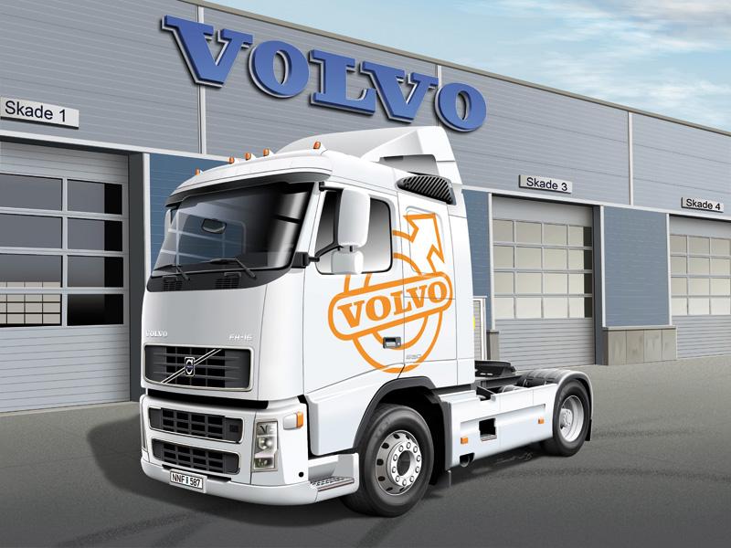 Wiring Diagram Volvo Fh12 : Volvo fh sleeper cab italeri