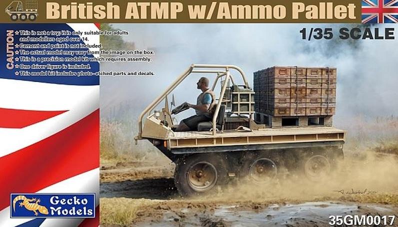 British ATMP w/Ammo Pallet Gecko Models 35GM0017